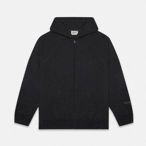 [NWT] FOG Essentials Black Full Zip Up Hoodie